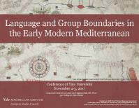 Language and Group Boundaries in the Early Modern Mediterranean