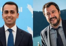 Di Maio and Salvini